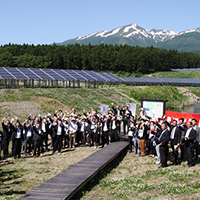Opening Event of the Shonai Renewable Energy Power
